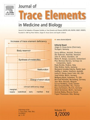 vier anorganischen Gleichgewichte - Journal of Trace Elements in Medicine and Biology Volume 23 1/2009