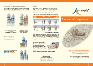 Synoveda Basoredox-Supplement Info-Flyer