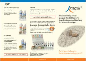 synoveda – Das-Verfahren der basischen Energie-Resonanz Supplementierung Info-Flyer