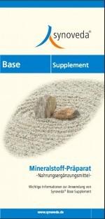Mineralstoffe - Synoveda Base-Supplement - Basische Nahrungsergänzung