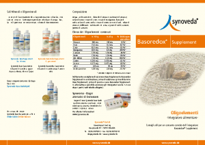 Synoveda Basoredox Supplement italienisch