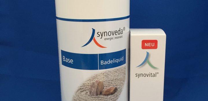 "Unser Angebot: Synoveda Base Badeliquid und Synovital Muskelvital-Gel ""Fitness"""