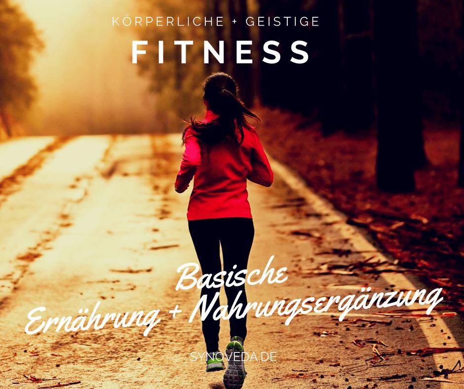 Fitness - Ernährung + Nahrungsergänzung Synoveda