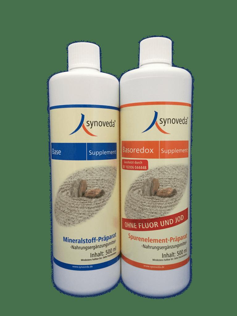 Das mittlere Supplement-Set (500 ml) - Base Supplement & Basoredox