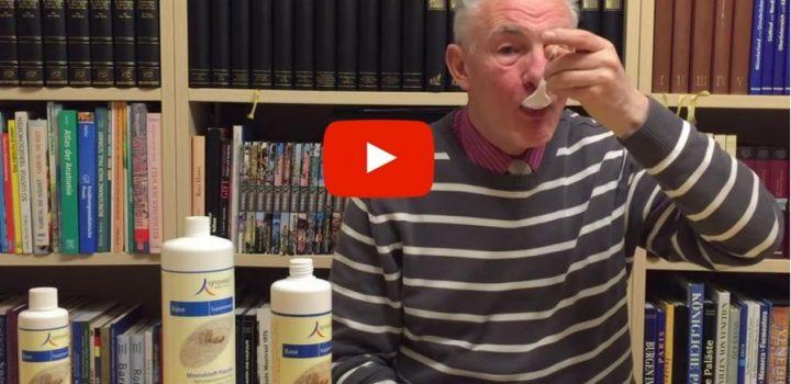 Die Methode für Unerschrockene: So trinkt man unsere Mineralstoffe richtig.
