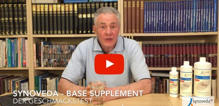 Synoveda - Base Supplement Geschmackstest