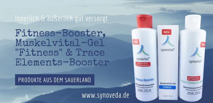 "Synovital Fitness-Booster, Muskelvital-Gel ""Fitness"" & Synovital Trace-Elements-Booster"