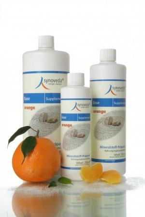 Basisches Mineralstoff-Präparat SYNOVEDA BASE SUPPLEMENT Orange Nahrungsergänzung