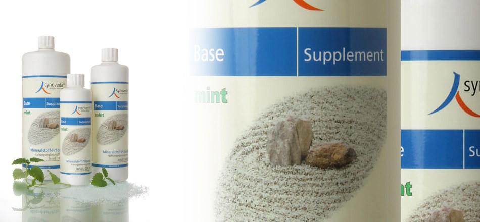 Unser Angebot: Synoveda Base Supplement Mint