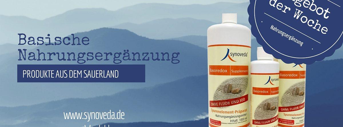 Unser Angebot: Synoveda Basoredox Supplement (ohne Fluor und Jod)