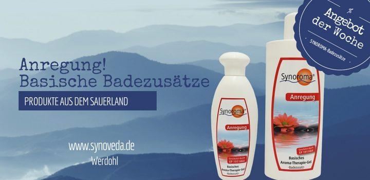 Produkte aus dem Sauerland Basischer Badezusatz ANREGUNG