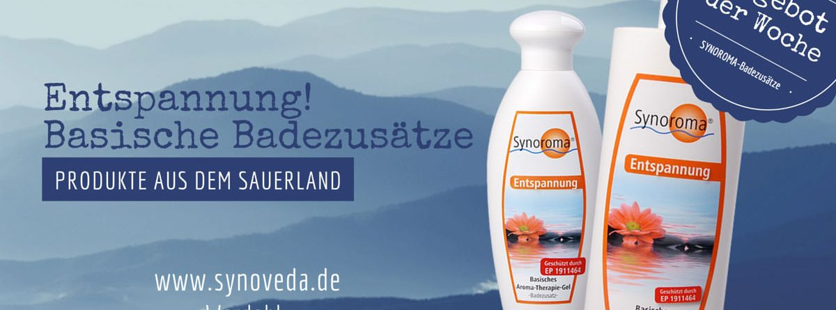 Unser Angebot: Synoroma Entspannung