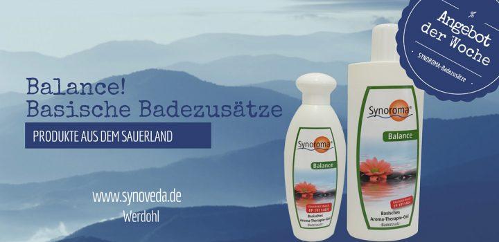 """Unser Angebot: Basenbad """"Balance"""" - Auftanken mit unserem basischen Aromabad."""