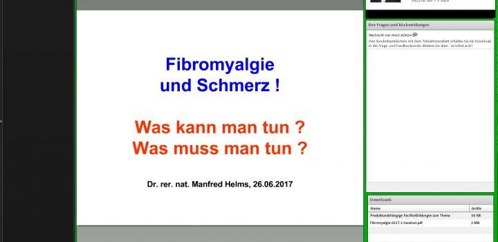 Fibromyalgie ist erfolgreich behandelbar