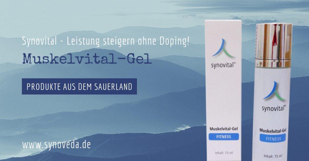 Synovital Muskelvital-Gel – Leistung steigern ohne Doping