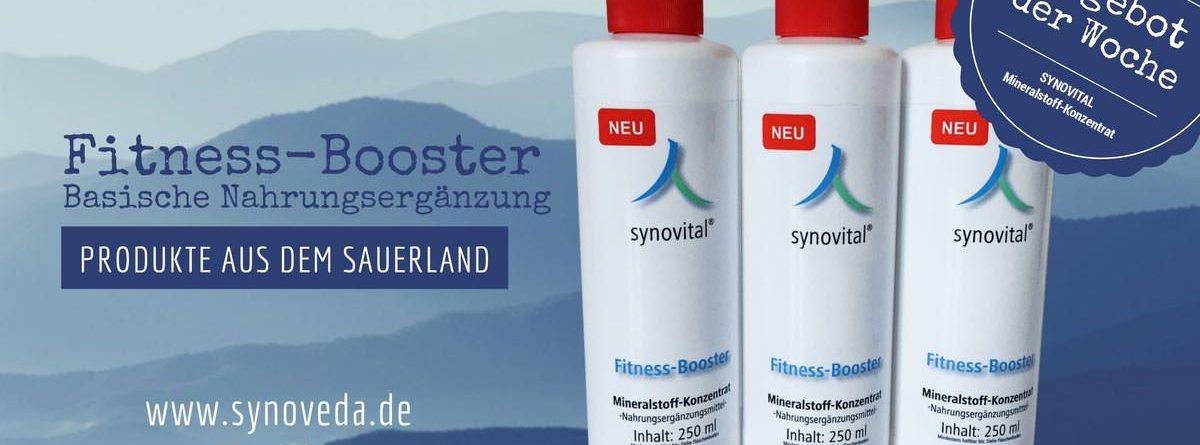 Unser Angebot: Der Synovital Fitness Booster