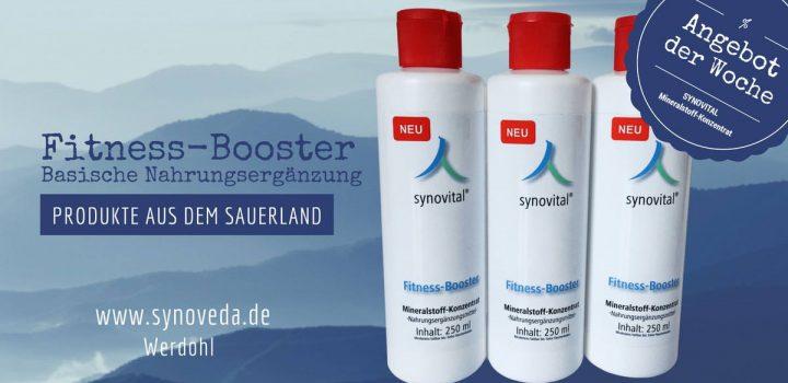 Der Synovital Fitness Booster - für eine gute Magnesium-Versorgung