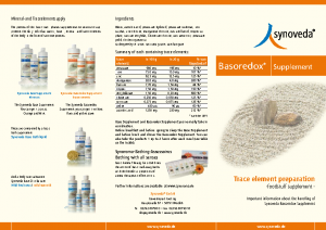 Synoveda Basoredox Supplement englisch