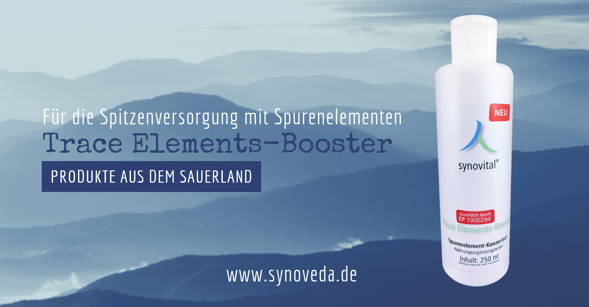 Unser Angebot: Synovital Trace-Elements-Booster