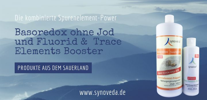 Basoredox Supplement ohne Fluor und Jod & Trace Elements-Booster