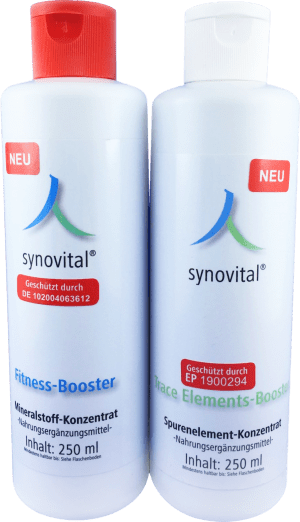 Synovital Fitness Booster & Synovital Trace Elements Booster