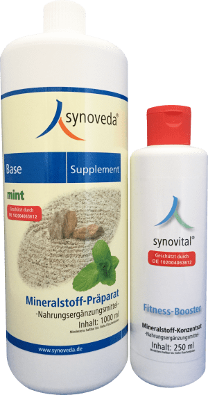 Base-Supplement - mint + Fitness-Booster