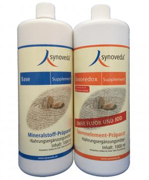 Das große Supplement-Set (1000 ml) - Base Supplement & Basoredox
