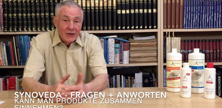 Fragen an Dr. Helms - Kann man die Synoveda-Produkte mischen?